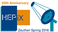 HEPIX Spring 2016 Workshop