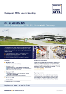 Poster European XFEL Users Meeting 2016