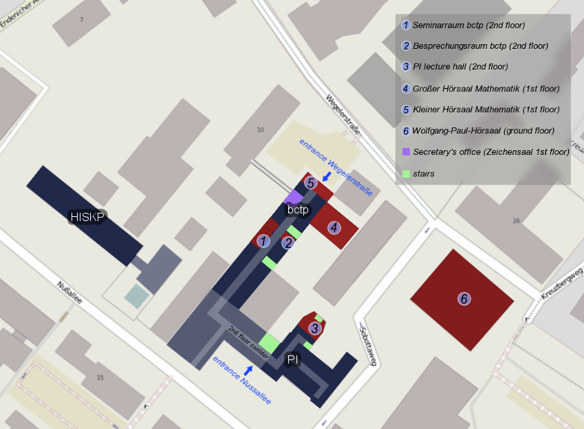 Map Conference Venues